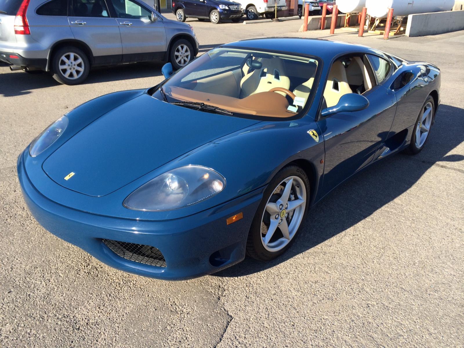Finance 2001 Ferrari 360 Modena 360 Modena In Edmonton Alberta 77 988